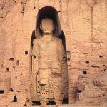 مجسمه بودا قبل از تخریب