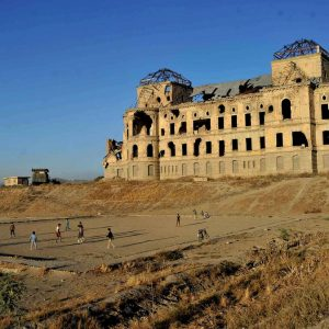 قصر دارالامان یکی از جاذبه های گردشگری کابل افغانستان